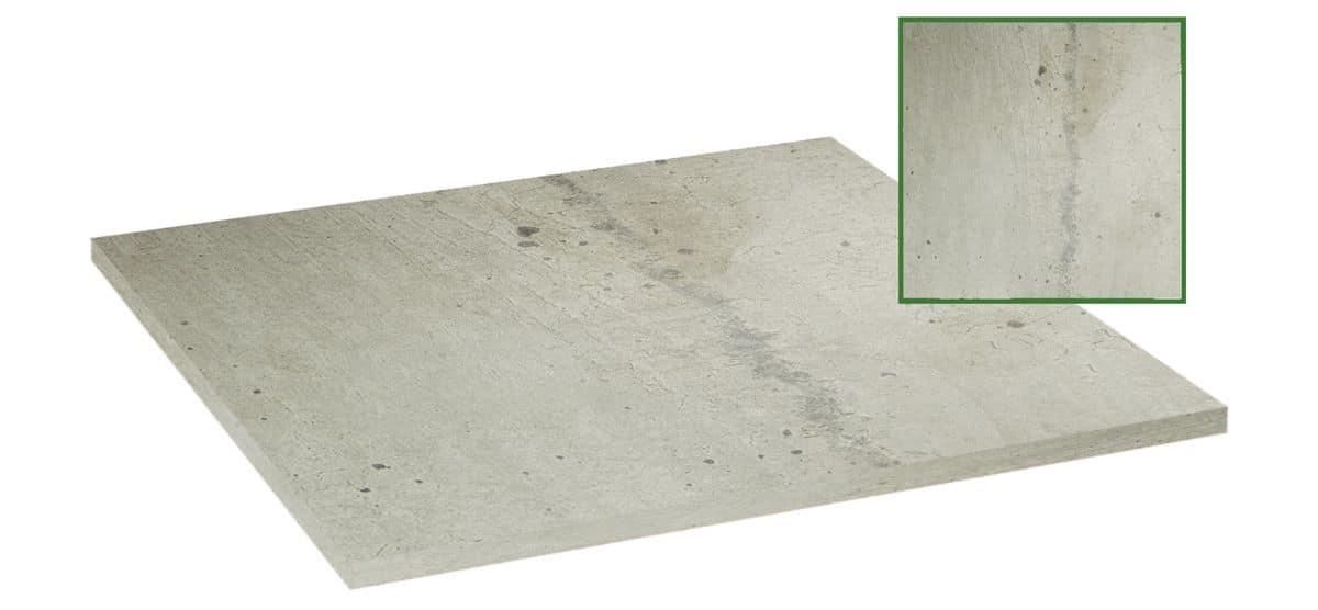 Table top in melamine gray stone, Table top in melamine gray stone