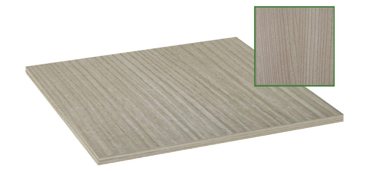 Table top in melamine natural bleached, Table top in melamine natural bleached