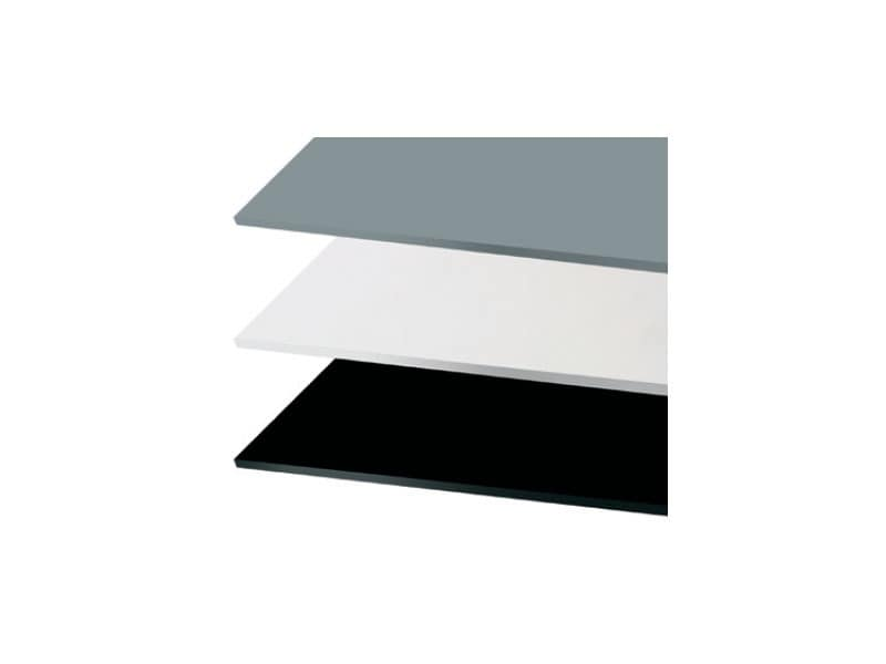 Tops iron cod. 152 cod. 153, Square table top for bars and fast food, various colors