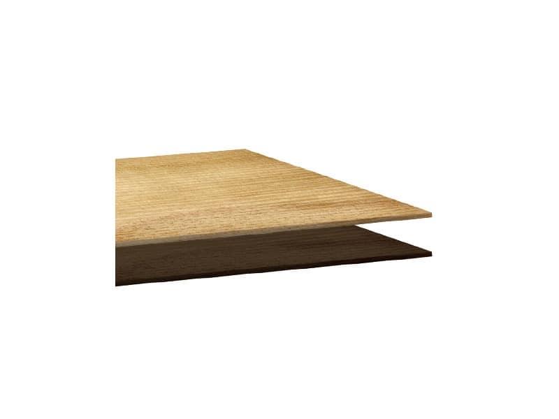 Piani in laminato cod. 112 cod. 127, Square top for bar table, in laminate