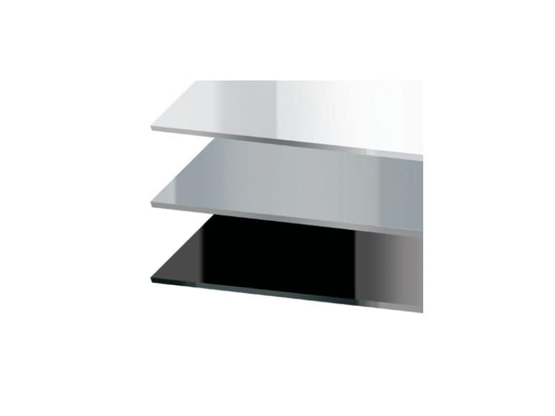 Tops luxury cod. 150 cod. 151, Square top for bar table, in acrylic