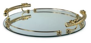 1402, Mirror glass tray