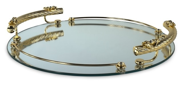 1402, Mirror glass tray