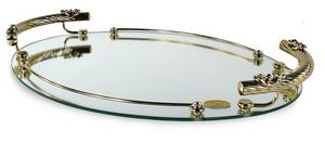 1403, Elegant tray with oval shape