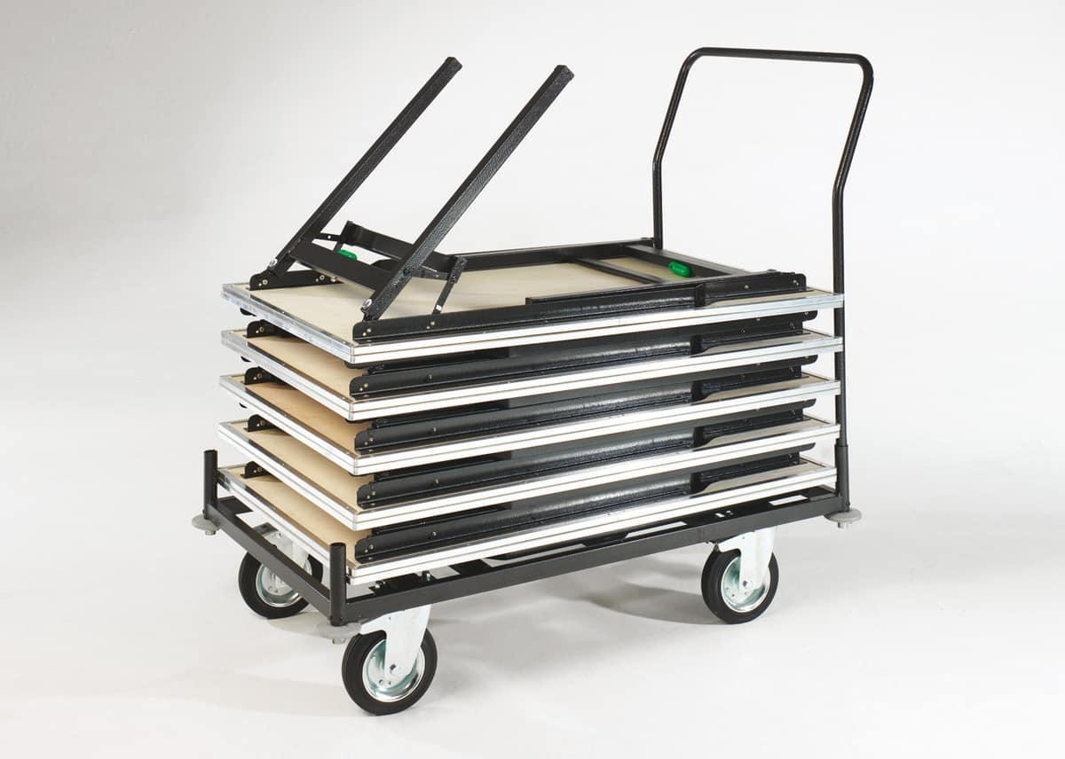 TTF, Trolley for folding tables for conferences