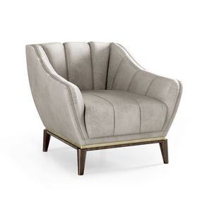 ART. 3340/P, Armchair upholstered in velvet