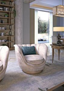 Art. 5200, Swivel armchair