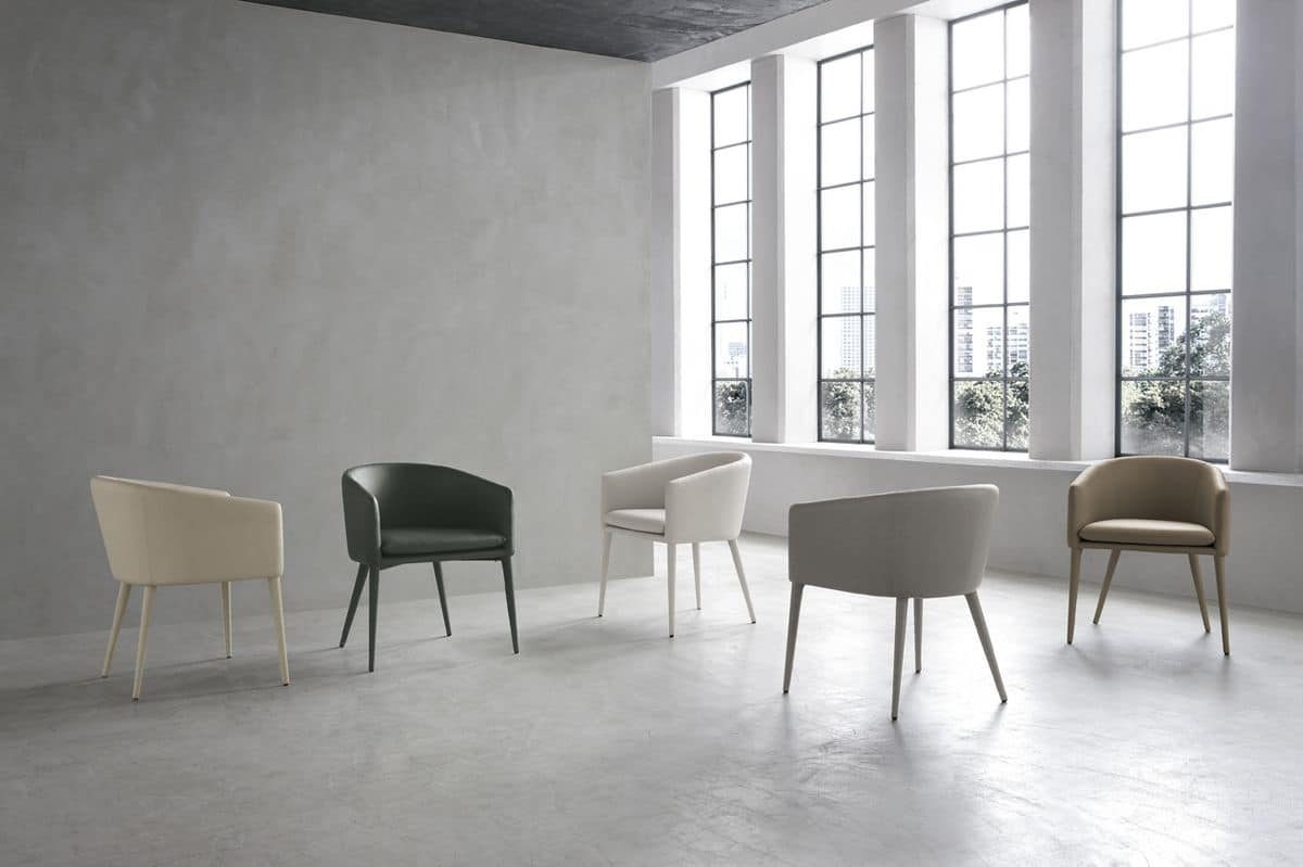 BALTIMORA PT600, Modern armchair ideal for bars and apartments