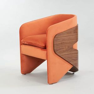 BS505A � Armchair, Armchair with enveloping  structure