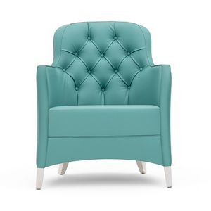 Euforia 00141K, Lounge armchair with capitonn� back