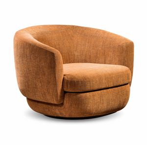 Gabrielle, Swivel upholstered armchair