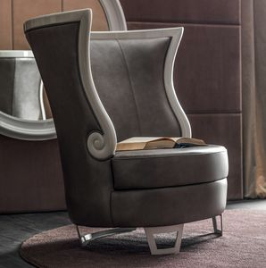 Gaudì Art. 637, Elegant armchair with high back