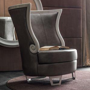 Gaud� Art. 637, Elegant armchair with high back