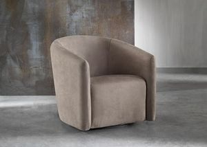 Gipsy, Armchair padded in polyurethane, for waiting rooms