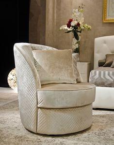 Gold Art. 6654 - 6600, Armchair fully upholstered