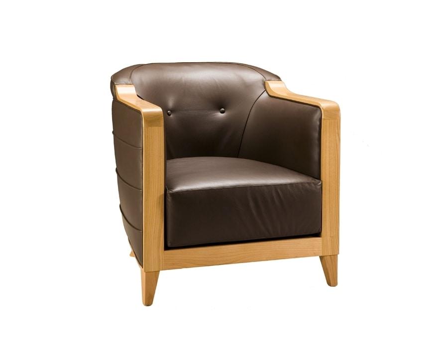 Milano 3886, Comfortable padded armchair