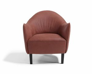 Musetta, Armchair with welcoming ergonomics