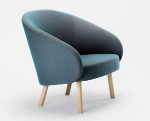 Nasu XL, Enveloping modern armchair
