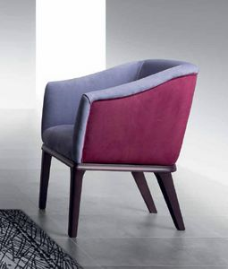 PO68 Club armchair, Armchair with elastic straps for greater comfort