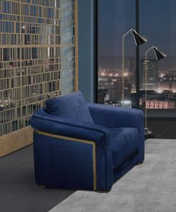 PO77 Desyo, Elegant armchair with soft shapes