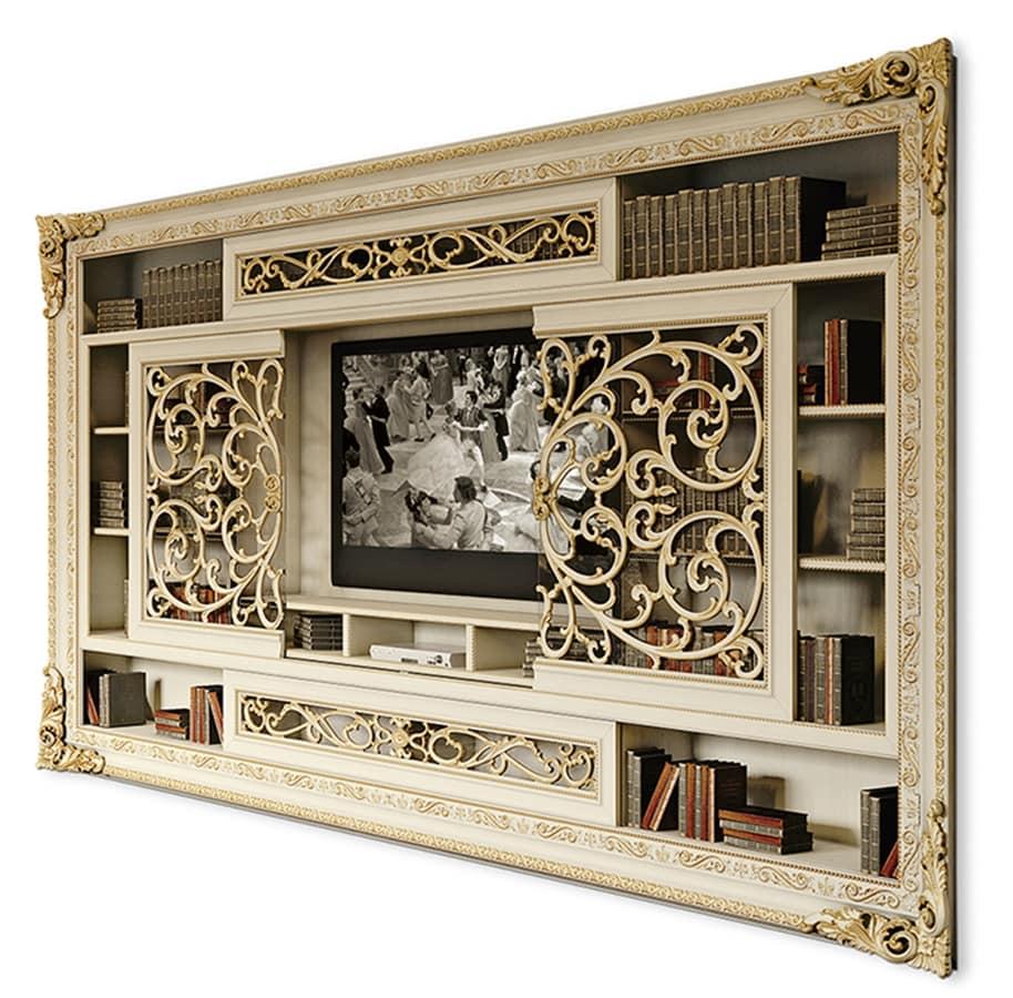Mobile Tv Con Ante Scorrevoli.Tv Cabinet With Sliding Doors Idfdesign