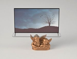 Angeli, TV cabinet with angels decoration