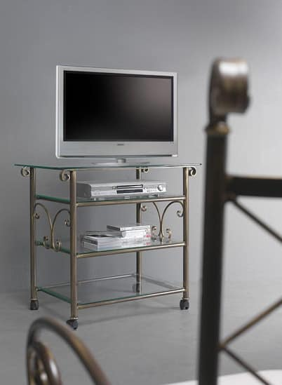 Apollo Cart, Home theatre TV trolley with glass top