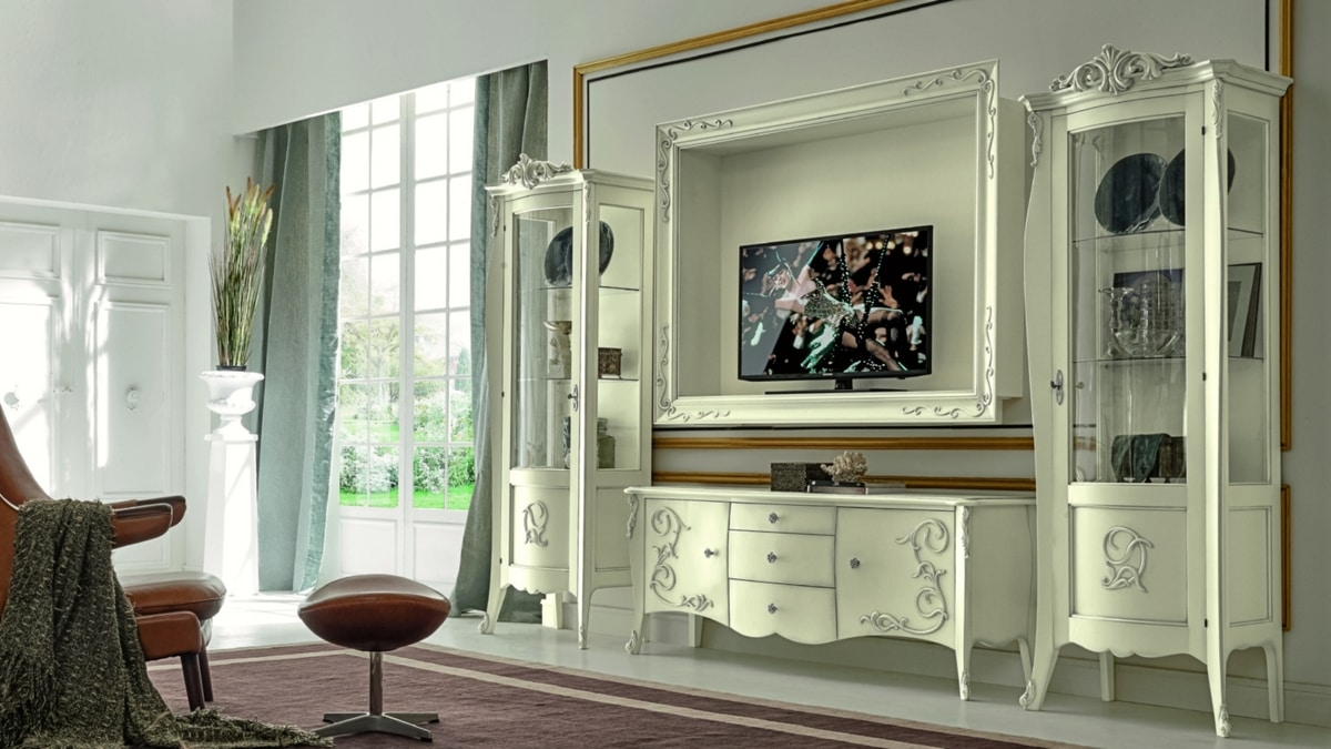 Arabesque, Baroque style TV stand