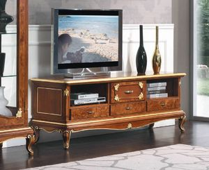 Art. 3050, Low TV stand, classic style