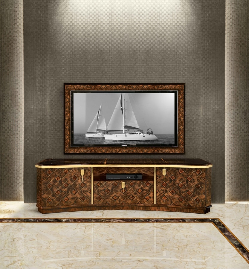 ART. 3293, Wall mounted TV stand frame