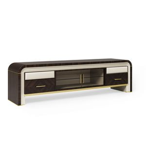 ART. 3333, TV stand with rounded lines