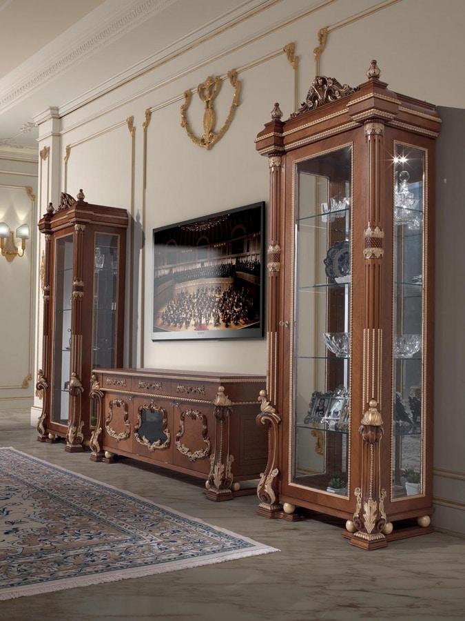 Art. 495, Classic wooden TV cabinet