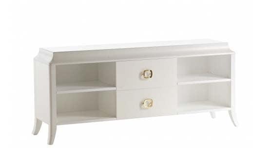 Art. VL113, Wood TV stand, handmade, for modern houses
