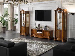 Brianza tv stand, Classic style TV cabinet