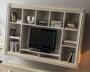 Clara  Art. 561, Wall-mounted TV bookcase