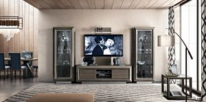 Elite tv stand composition, Tv cabinet with an elegant design