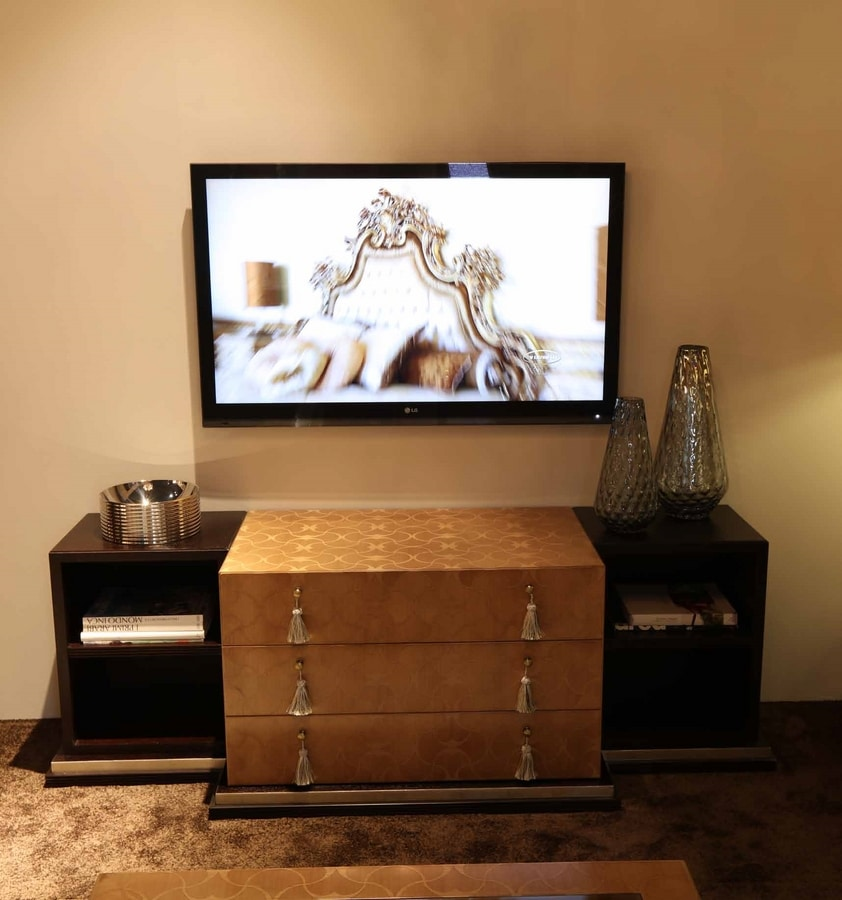 FLORA / tv stand, TV cabinet with refined aesthetics