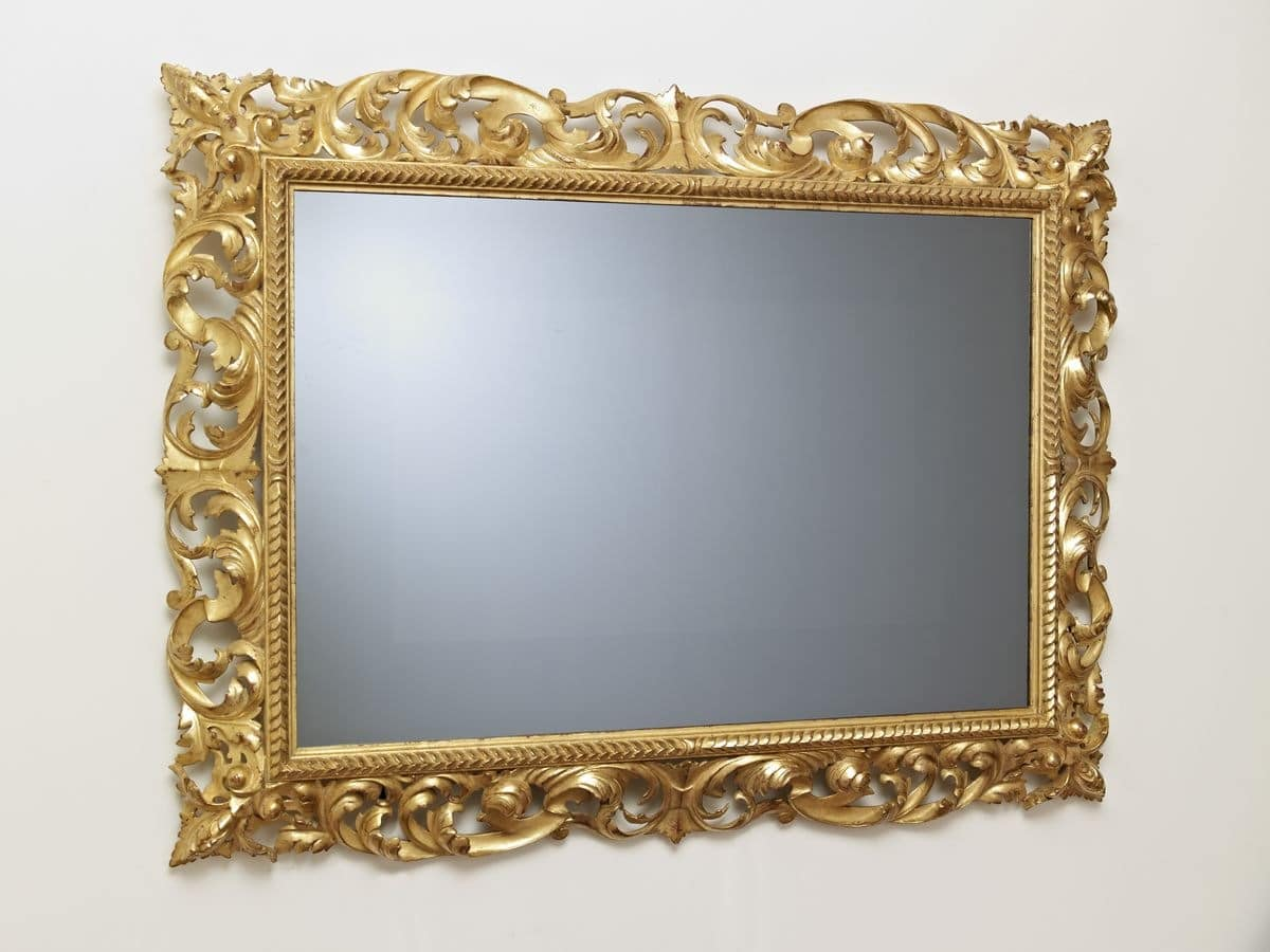 FRAME FOR TV ART. CRTV 0014, Classical carved frame for the luxury salons