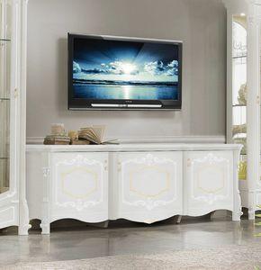 Giulietta Art. 3608, TV cabinet for a glamorous living room