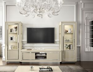 La Star Day tv stand composition, TV cabinet for living room