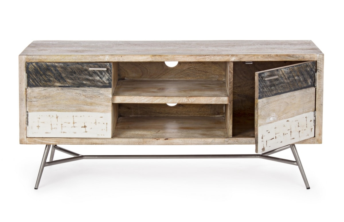 Low sideboard 2A Leiston, Low TV stand in wood