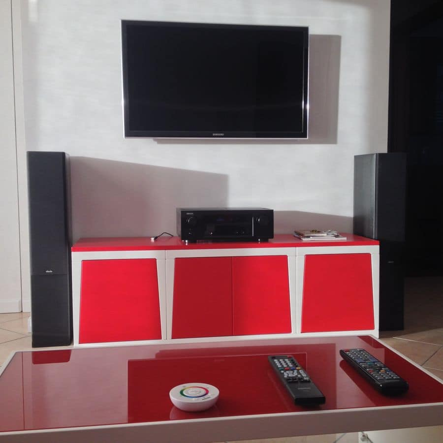 Minired, Modular TV-stand for living rooms