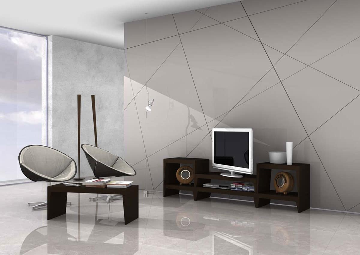 Moka, TV stand in various finishes