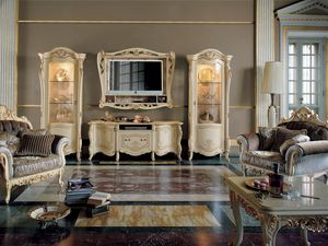 Opera TV composition, Classic style TV cabinet