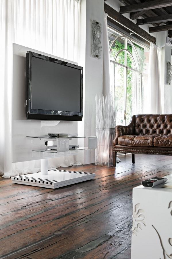 PIXEL PP114, Swivel TV stand