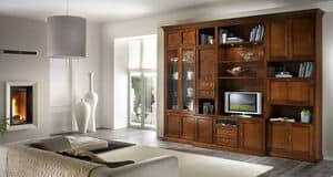 R 06, TV cabinet with drawers, display cabinets and cupboards