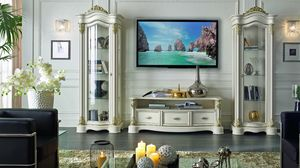 Roma TV cabinet, TV stand, contemporary classic style