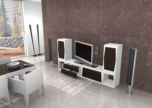 Tower, TV stand in various sizes