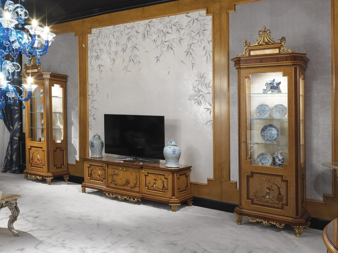TV cabinet 1309, TV cabinet, Chinese style of luxury
