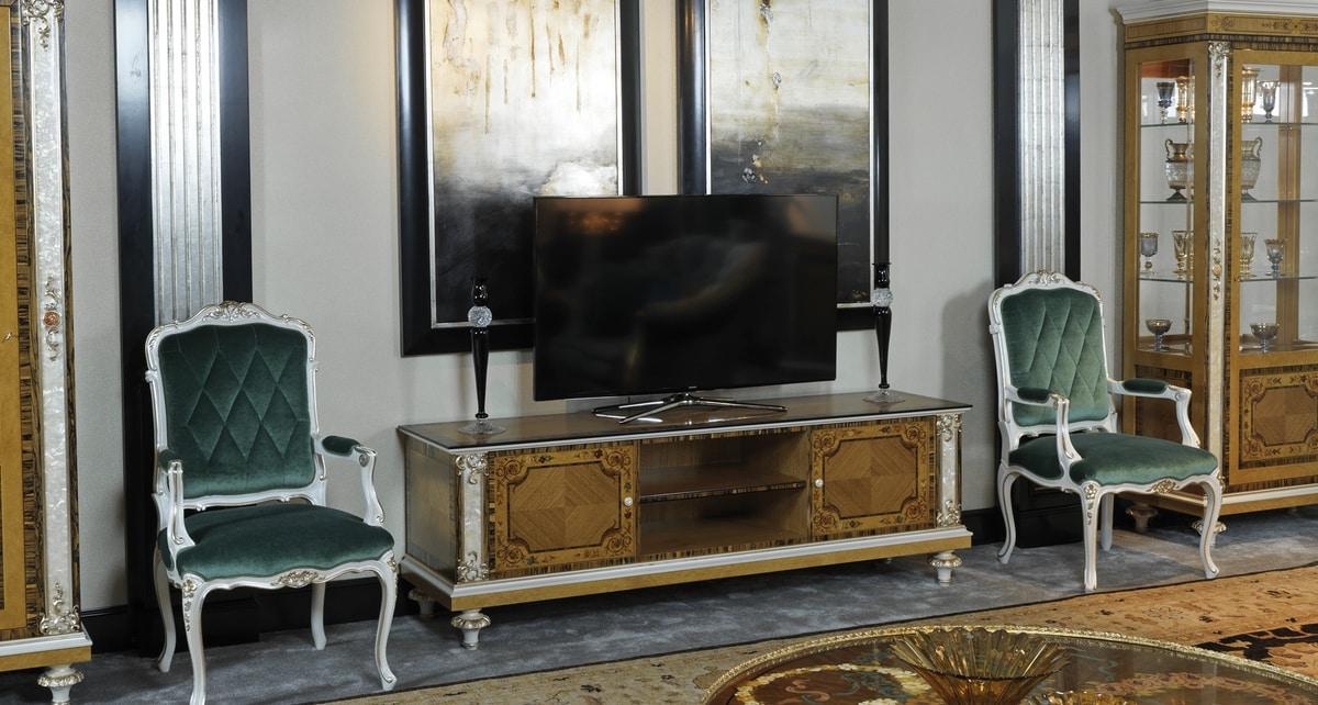 TV cabinet 1423, Luxury TV cabinet